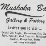 Muskoka Bay Gallery & Pottery in Gravenhurst